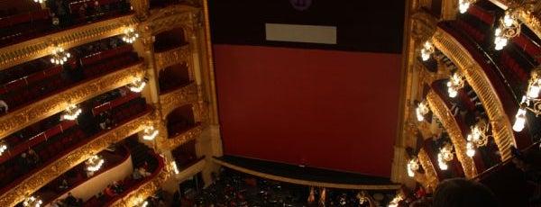 Liceu Opera Barcelona is one of Куда отвести друзей в Барселоне.