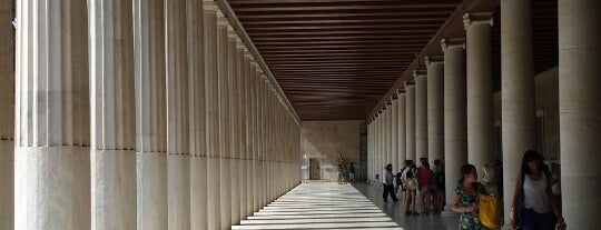 Stoa of Attalos is one of Athens: Main Sights.