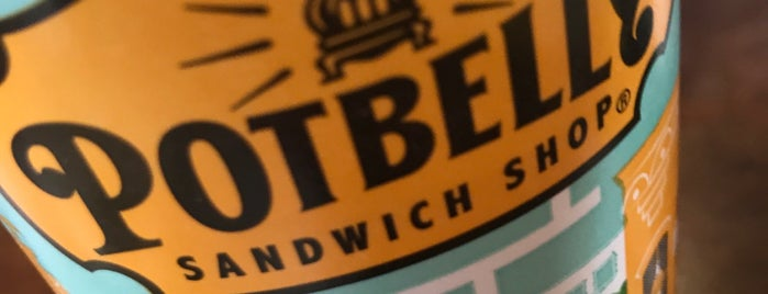 Potbelly Sandwich Shop is one of Dave 님이 저장한 장소.