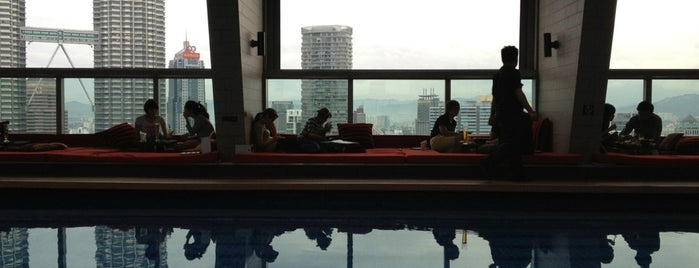 Swimming Pool @ Skybar is one of Malaysia 🇲🇾.