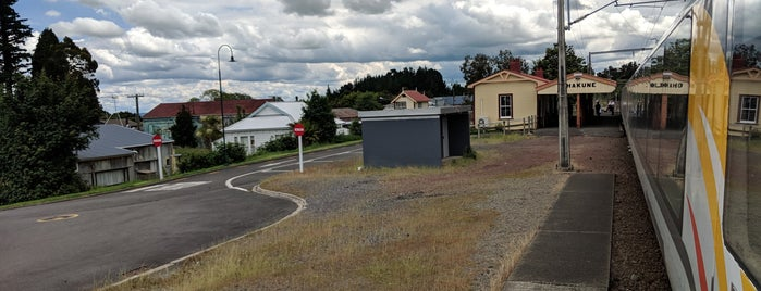 Ohakune Railway Station is one of Ruapehu.