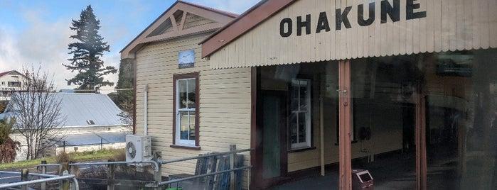 Ohakune Railway Station is one of Ruapehu.