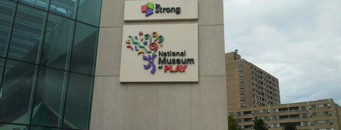 Strong National Museum of Play is one of Cool places in NY (upstate).