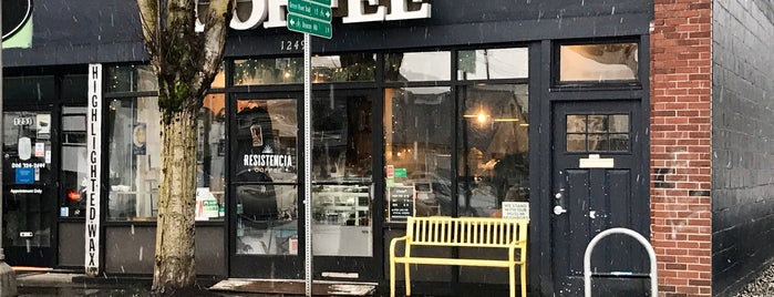 Resistencia is one of Seattle coffee.