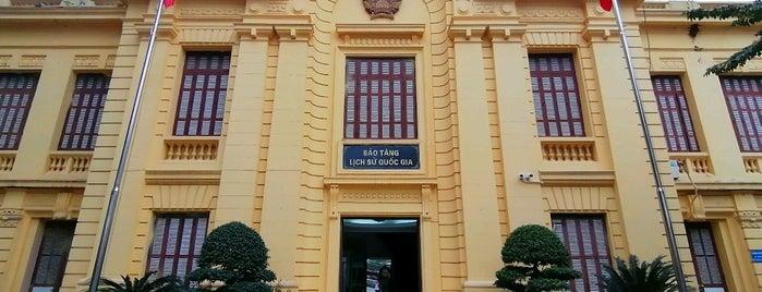 Bảo Tàng Cách Mạng Việt Nam (Museum of the Vietnamese Revolution) is one of Hanoi.