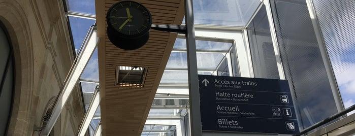 Centres d'affaires en gares