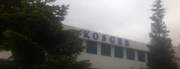 KOSGEB is one of Duygu 님이 좋아한 장소.