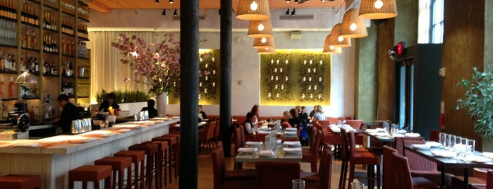 Fig & Olive is one of NYC's Must-Eats, Various.