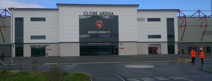 Globe Arena is one of Part 1~International Sporting Venues....