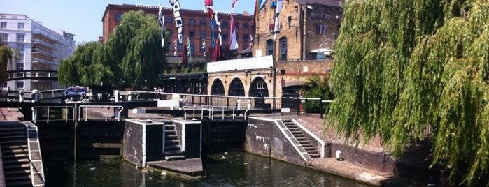 Camden Lock is one of My London.