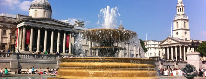 Trafalgar Square is one of Must Visit London.
