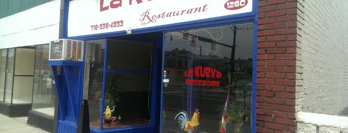 La Kueva Puerto Rican Cuisine is one of Tempat yang Disimpan Sophia.