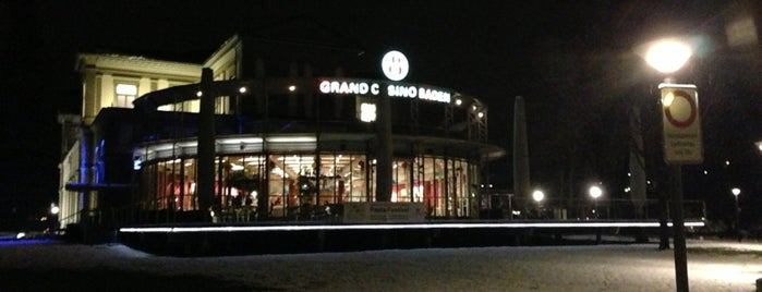 Grand Casino Baden is one of Places we've been.