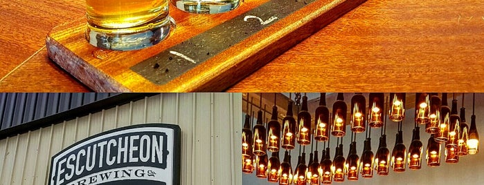Escutcheon Brewing Co. is one of Must Visit Breweries.