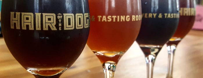 Hair of the Dog Brewery & Tasting Room is one of Must Visit Breweries.