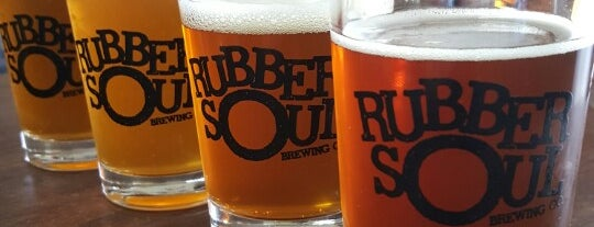 Rubber Soul Brewing Co. is one of Must Visit Breweries.