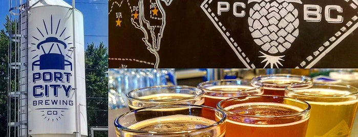 Port City Brewing Company is one of Must Visit Breweries.