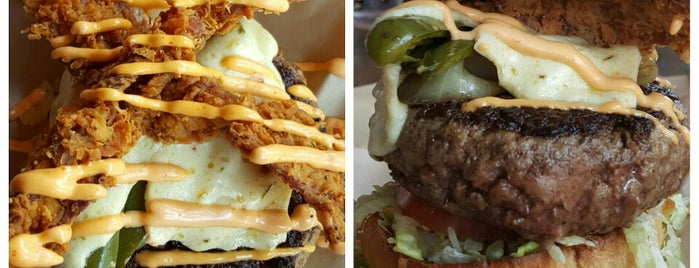Grease Burger, Beer and Whiskey Bar is one of Restaurant Burgers.