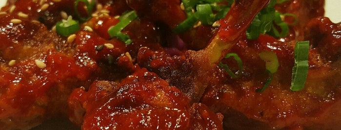 Hanaro Restaurant And Lounge is one of Ain't No Thing But A Chicken Wing!.