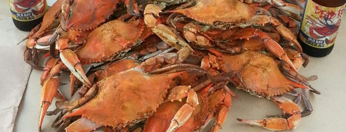 Captain James Crab House is one of Baltimore Dining Adventures.