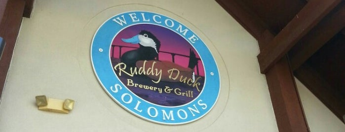 Ruddy Duck Brewery & Grill is one of Must Visit Breweries.