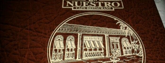 Lo Nuestro is one of Locais curtidos por Antonio Carlos.