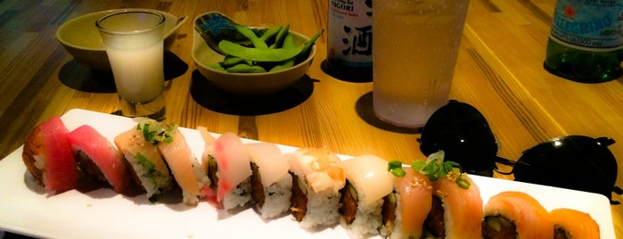 Sushi Blvd is one of Favorites.