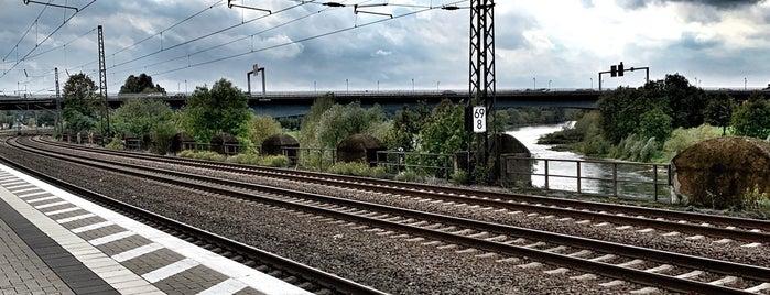 Bahnhof Porta Westfalica is one of Bahnhöfe besucht !.