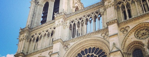Cattedrale di Notre-Dame is one of Bonjour Paris.