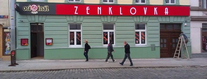 Zenklovka is one of Prague.