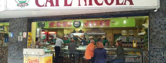 Café Nicola is one of Tempat yang Disukai Gilce Elaine.