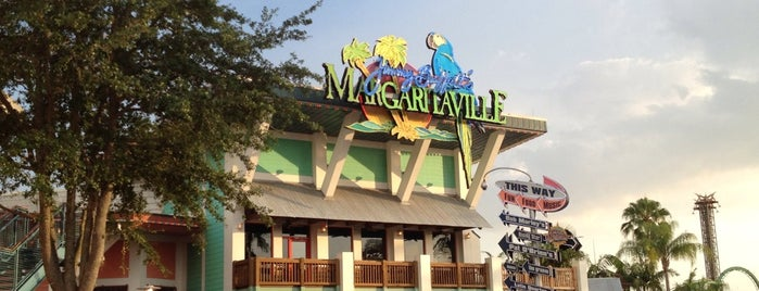 Jimmy Buffet's Margaritaville is one of Tempat yang Disukai Liz.