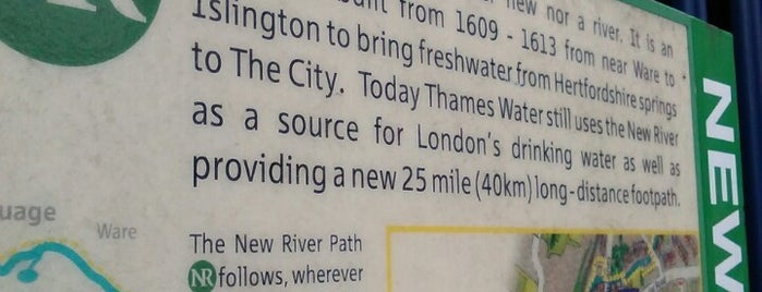 New River Path (Wightman Road) is one of London.