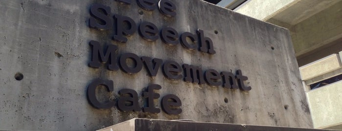 Free Speech Movement Cafe is one of Locais curtidos por Irvianne.
