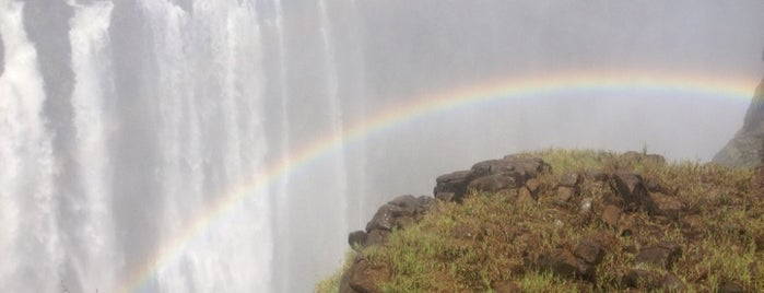 Victoria Falls is one of Before the Earth swallows me....