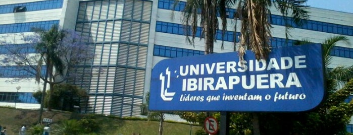 Universidade Ibirapuera is one of Lieux qui ont plu à MZ✔︎♡︎.