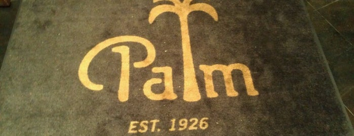 The Palm Atlanta is one of Jezebel Magazine's 100 Best Restaurants 2013.