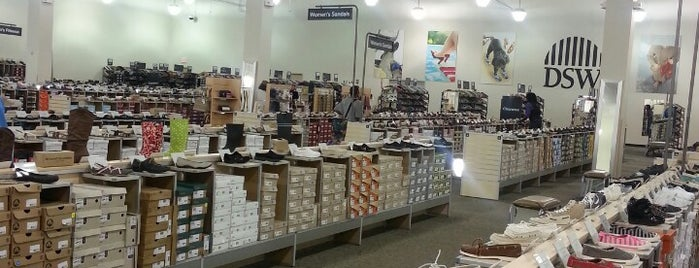DSW Designer Shoe Warehouse is one of Where, When & Who List-1!.