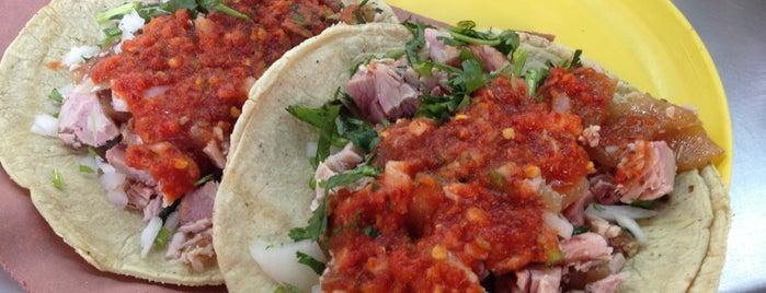 Tacos De Carnitas El Güero is one of CDMX.