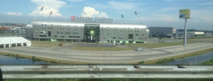 Cars Jeans Stadion is one of 'Stadium Talk'....