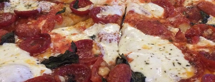 Juliana's Pizza is one of New York Magazine Most Amazing Slices, Jan 16 2016.
