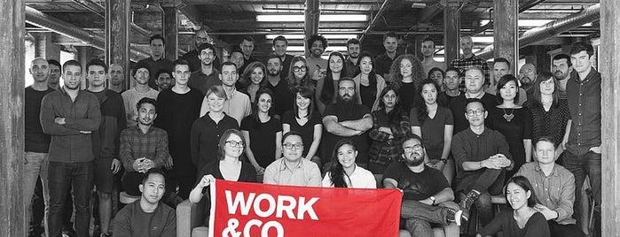 Work & Co is one of Lieux qui ont plu à Vanessa.