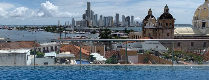 Hotel Movich Rooftoop Pool is one of Cartagena.
