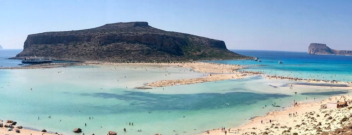 Balos Beach is one of plages.
