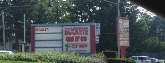 Buckeye Gas n Go is one of Pick Gas Stations.