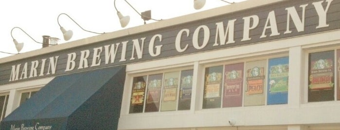 Marin Brewing Company is one of My favoite places in USA.