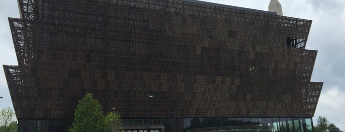 National Museum of African American History and Culture is one of Tempat yang Disimpan Rex.