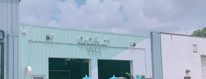 Coconut Club is one of New: DC 2019 🆕.