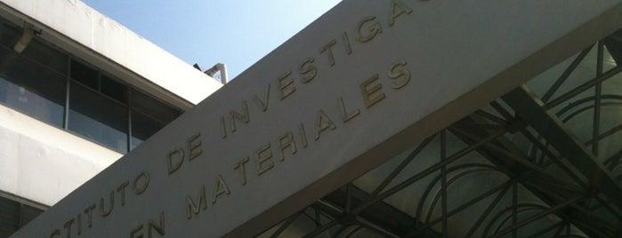 Instituto De Investigación En Materiales is one of Institutos UNAM.
