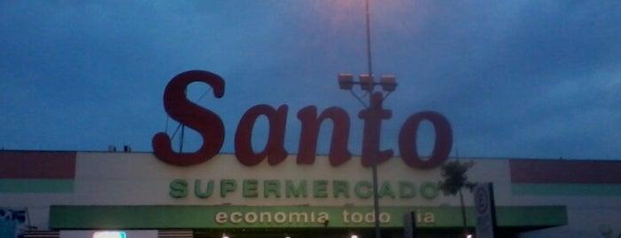Santo Supermercado is one of Locais curtidos por Romulo.